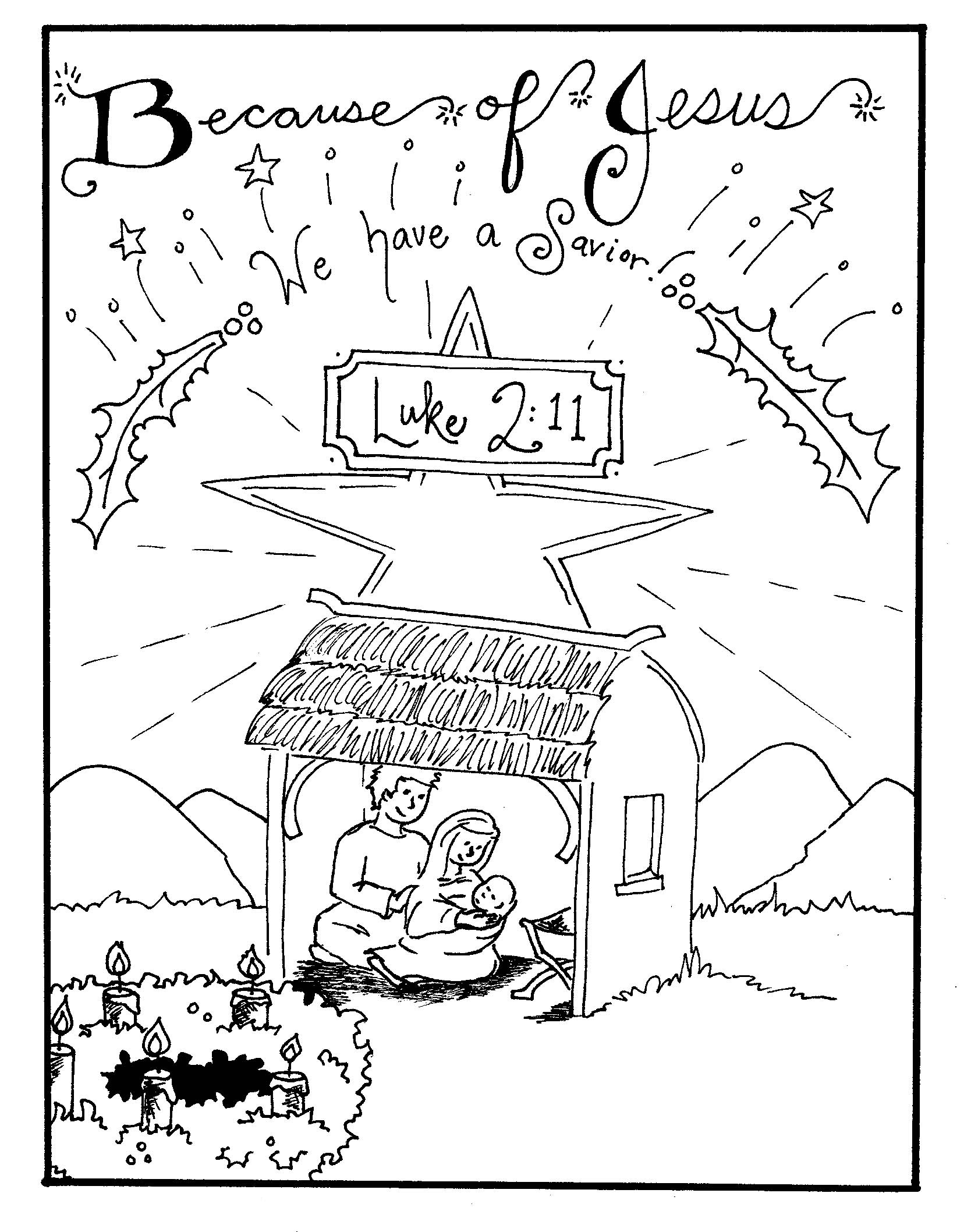Free Printable Nativity Coloring Pages For Kids - Best Coloring - Free Printable Christmas Baby Jesus Coloring Pages