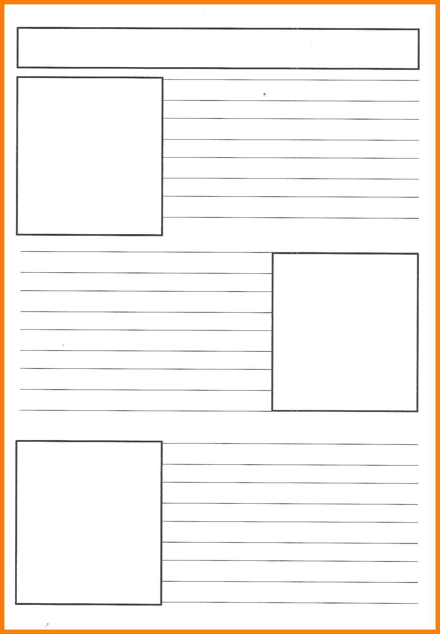 Free Printable Newspaper Template | Reference | Newspaper Article - Free Printable Newspaper Templates For Students