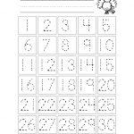 Free Printable Number Chart 1 30   Kinder   Number Tracing   Free Printable Number Flashcards 1 30