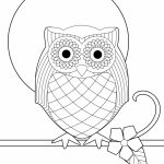 Free Printable Owl Coloring Pages For Kids | Olivia's Owl Party   Free Printable Owl Coloring Sheets