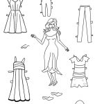 Free Printable Paper Doll Templates | Cool2Bkids   Free Printable Paper Doll Coloring Pages