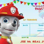 Free Printable Paw Patrol Invitation Template   All Characters | Paw   Free Printable Paw Patrol Invitations