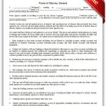 Free Printable Power Of Attorney, General Legal Forms | Free Legal   Free Printable Legal Documents Forms