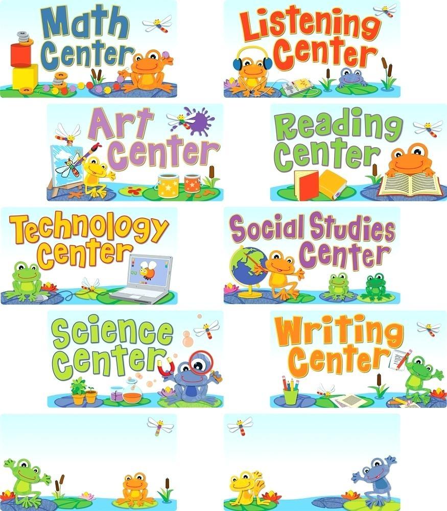 Free Printable Preschool Center Signs Free Printable Classroom Signs - Free Printable Center Signs For Pre K