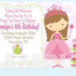 Free Printable Princess Tea Party Invitations Templates | Party   Free Princess Printable Invitations