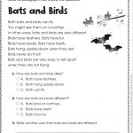 Free Printable Reading Comprehension Worksheets For Kindergarten   Free Printable Short Stories With Comprehension Questions