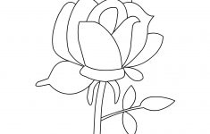Free Printable Roses Coloring Pages For Kids – Free Printable Roses