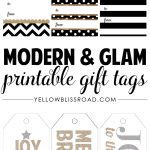 Free Printable Rustic And Plaid Gift Tags   Yellow Bliss Road   Free Printable Gift Tags