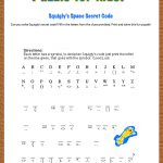 Free Printable Secret Code Word Puzzle For Kids. This Puzzle Has A   Free Printable Escape Room Game