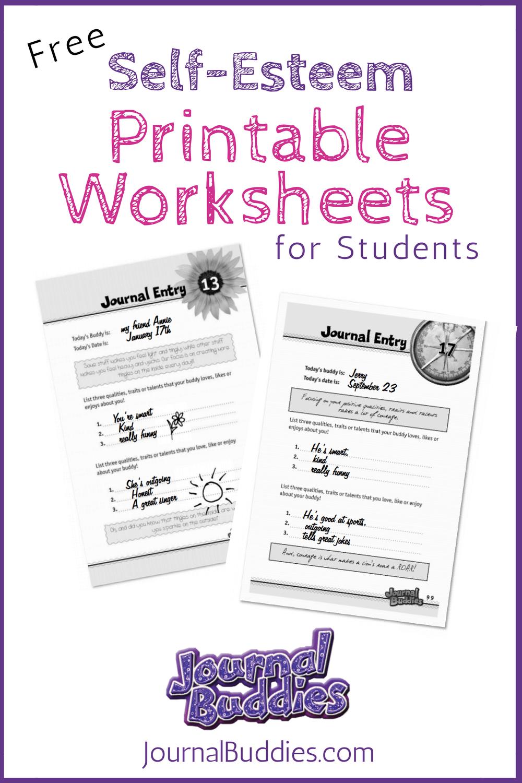 Free Printable Self Esteem Worksheet For Kids | Creative Teaching - Free Printable Self Esteem Bingo