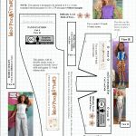 Free Printable Sewing Patterns For Curvy #mtmbarbie #dolls Clothes   Easy Barbie Clothes Patterns Free Printable