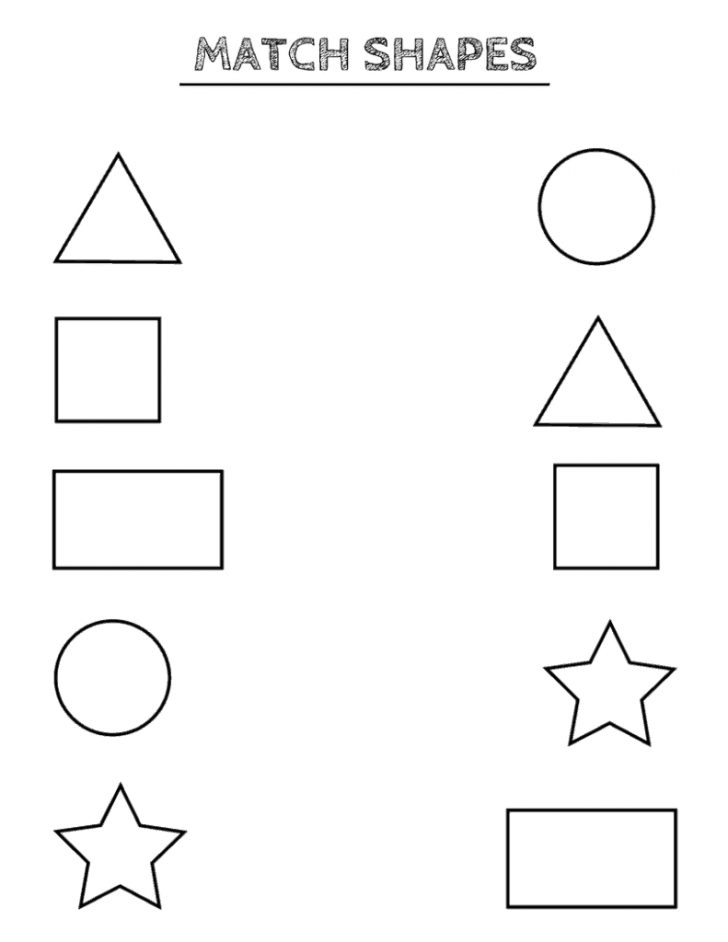 Free Printable Shapes