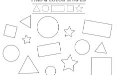 Free Printable Shapes Worksheets For Toddlers And Preschoolers – Free Printable Shapes Worksheets