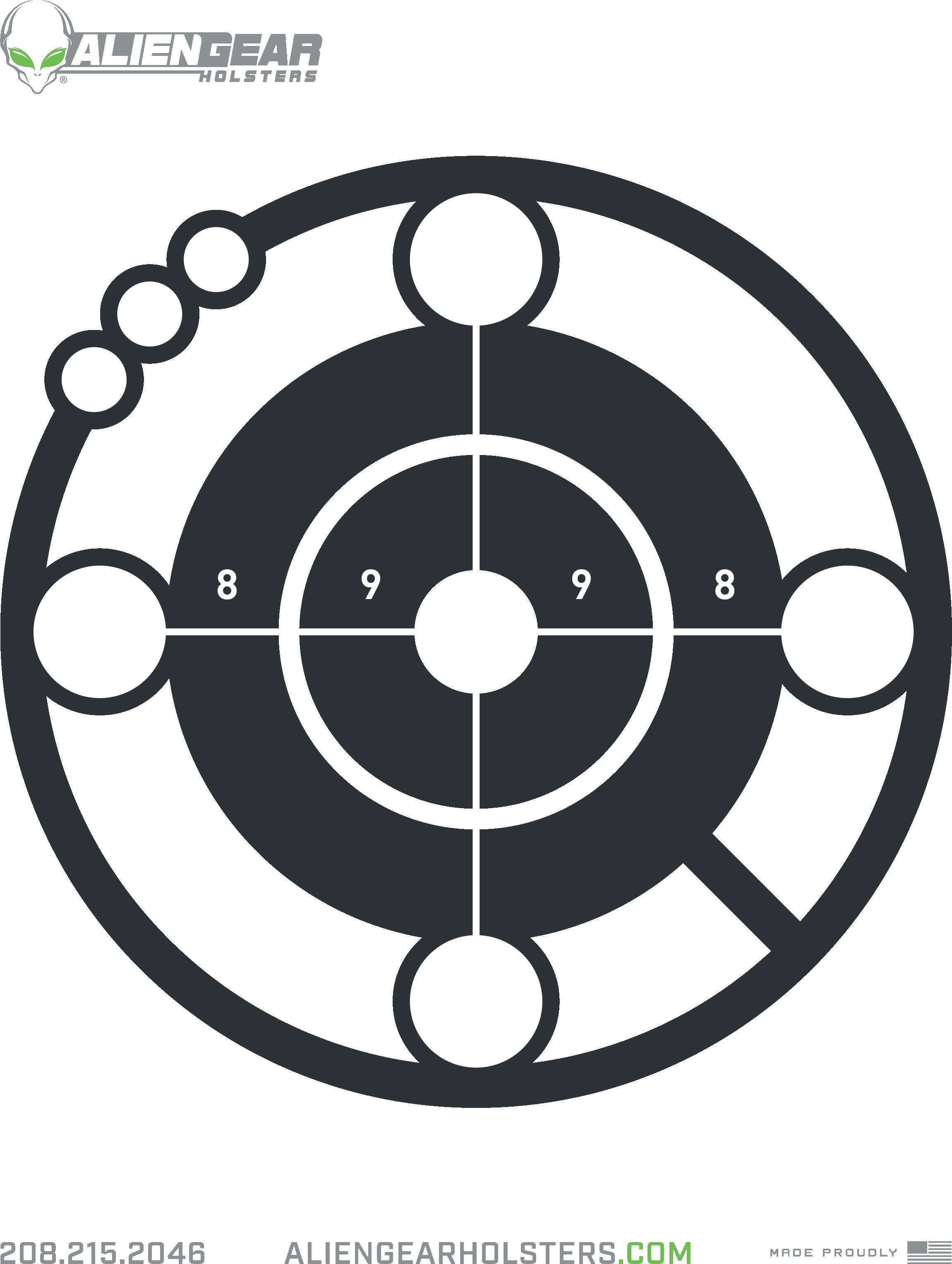 Free Printable Shooting Targets - Free Printable Shooting Targets