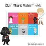 Free Printable Star Wars Valentine's Day Cards   Sippy Cup Mom   Free Printable Lego Star Wars Valentines