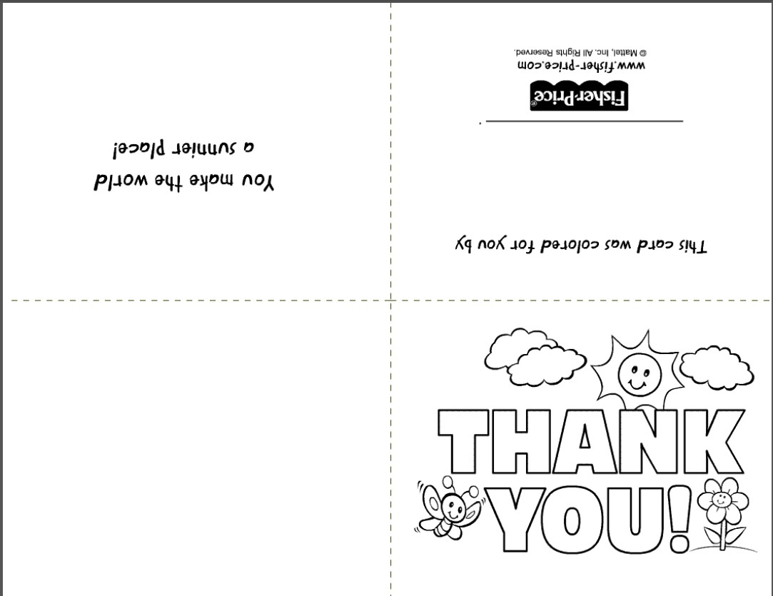 Free Printable Stationery- Websites For Downloading Nice Free Stationery - Free Printable Thank You Cards Black And White