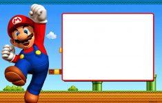 Free Printable Super Mario Bros Invitation Template | Mario Bros – Free Printable Super Mario Bros Invitations