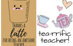 Free Printable Teacher Appreciation Thank You Cards | ✽ Back To – Free Printable Teacher Appreciation Cards To Color
