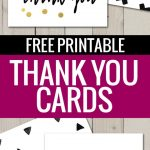 Free Printable Thank You Cards | Freebies | Free Thank You Cards   Free Printable Volunteer Thank You Cards