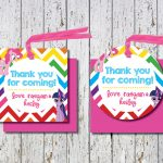Free Printable Thank You Tags For Birthday Favors – Happy Holidays!   Free Printable Thank You Tags For Birthday Favors