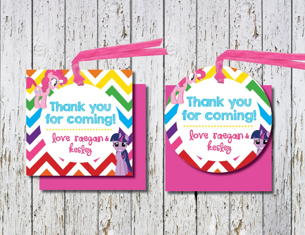 Free Printable Thank You Tags For Birthday Favors – Happy Holidays! - Free Printable Thank You Tags For Birthday Favors