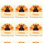 Free Printable Thanksgiving Place Cards    Also Great For Cupcake   Free Printable Thanksgiving Place Cards