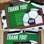 Free Printable} This Soccer Gift For Coach Is A Kick! | Thank You   Free Printable Soccer Thank You Cards