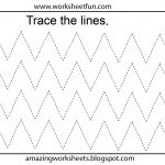 Free Printable Tracing Worksheets Preschool | Preschool Worksheets   Free Printable Fine Motor Skills Worksheets