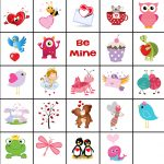 Free Printable Valentine Memory Game   Free Printable Matching Cards