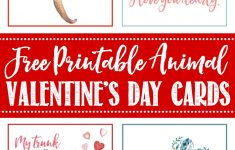 Free Printable Valentine's Day Cards And Tags – Clean And Scentsible – Free Printable Valentines Day Cards