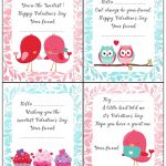 Free Printable Valentine's Day Cards For Kids   Free Printable Valentines Day Cards