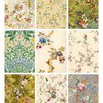 Free Printable Vintage Wallpaper   Wallpapersafari   Free Printable Wallpaper Patterns