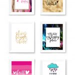 Free Printable Wall Art To Download Now   Sarah Titus   Free Printable Art
