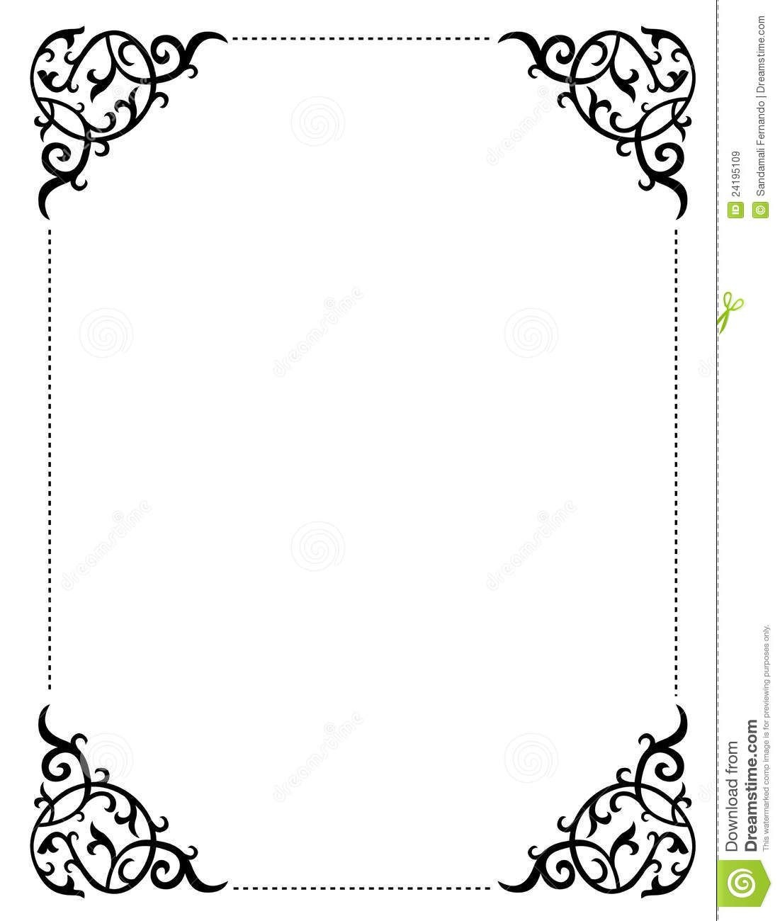 Free Printable Wedding Clip Art Borders And Backgrounds Invitation - Free Printable Wedding Scrolls