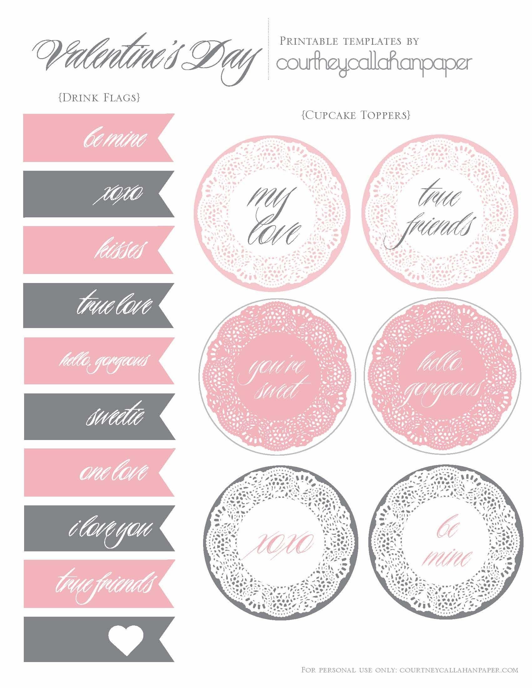 Free Printable Wedding Cupcake Toppers - Google Search | Party Time - Free Printable Whale Cupcake Toppers