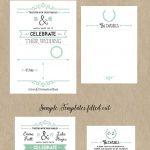 Free Printable Wedding Invitation Template | Wedding | Free Wedding   Free Printable Wedding Invitations