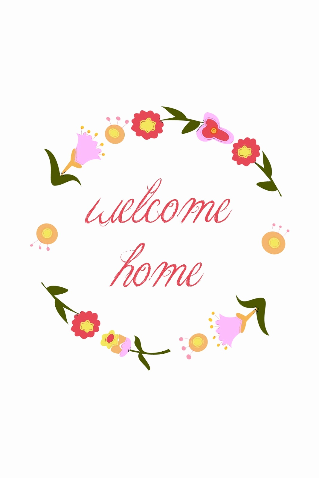Free Printable Welcome Home Cards - Tduck.ca - Free Printable Welcome Cards