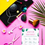 Free Printable 'what's In Your Purse?' Hen Party & Bridal Shower   Free Printable What's In Your Purse Game