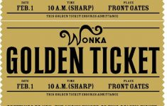 Free Printable Willy Wonka's Golden Ticket–Need To Have A Scrbd – Wonka Bar Wrapper Printable Free