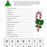 Free Printable Word Games For Christmas – Festival Collections   Free Printable Word Games
