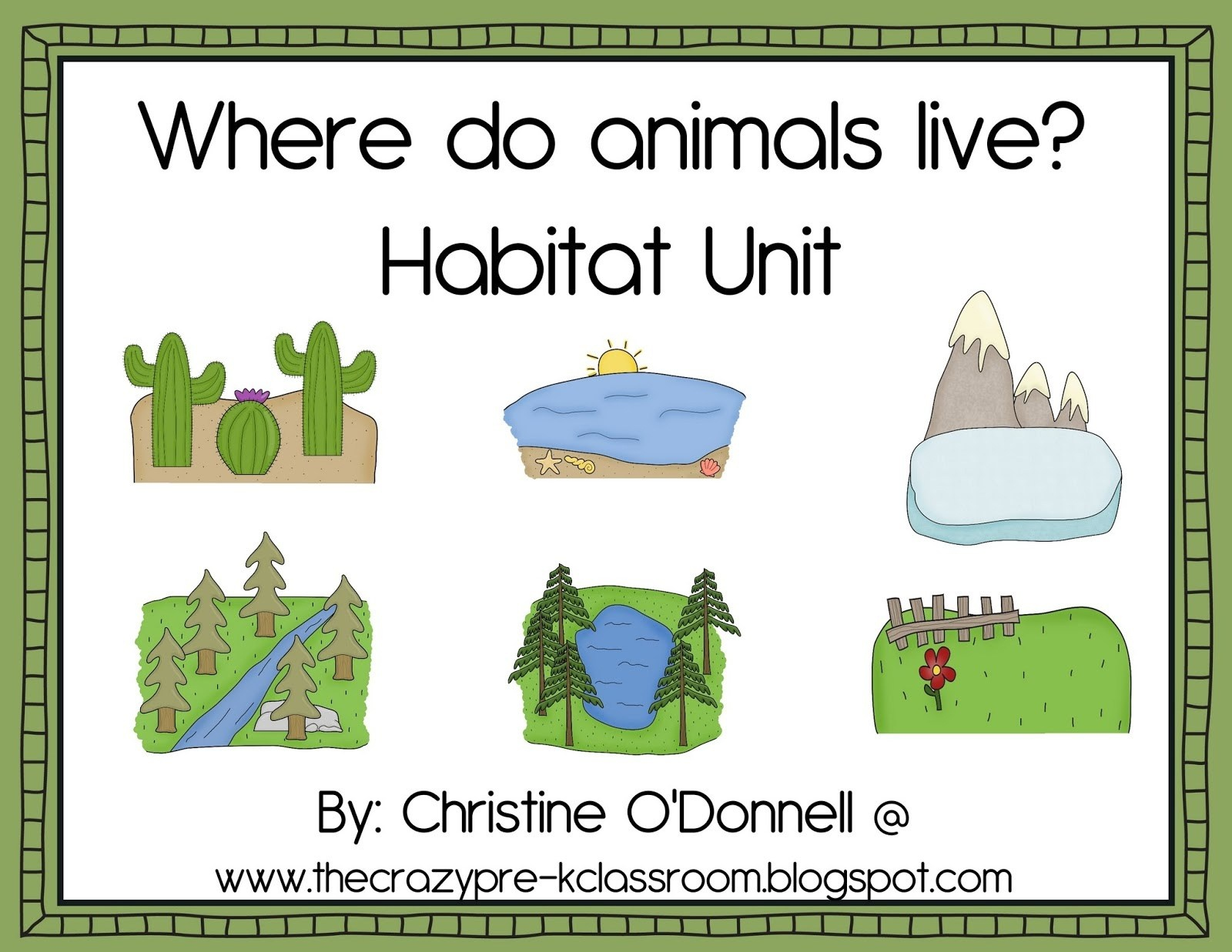 Free Printable Worksheets Animal Habitats – Orek - Free Printable Worksheets Animal Habitats