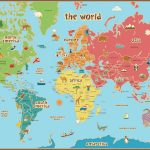 Free Printable World Map For Kids Maps And | Gary's Scattered Mind   Free Printable Maps For Kids