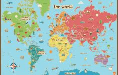 Free Printable World Map For Kids Maps And | Gary's Scattered Mind – Free Printable Maps For Kids