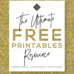Free Printables • Free Wall Art Roundups • Little Gold Pixel   Free Printable Wall Art 8X10