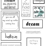 Free Printables   Great Additions To Scrapbooks & Smash Books   Free Printable Greeting Card Sentiments