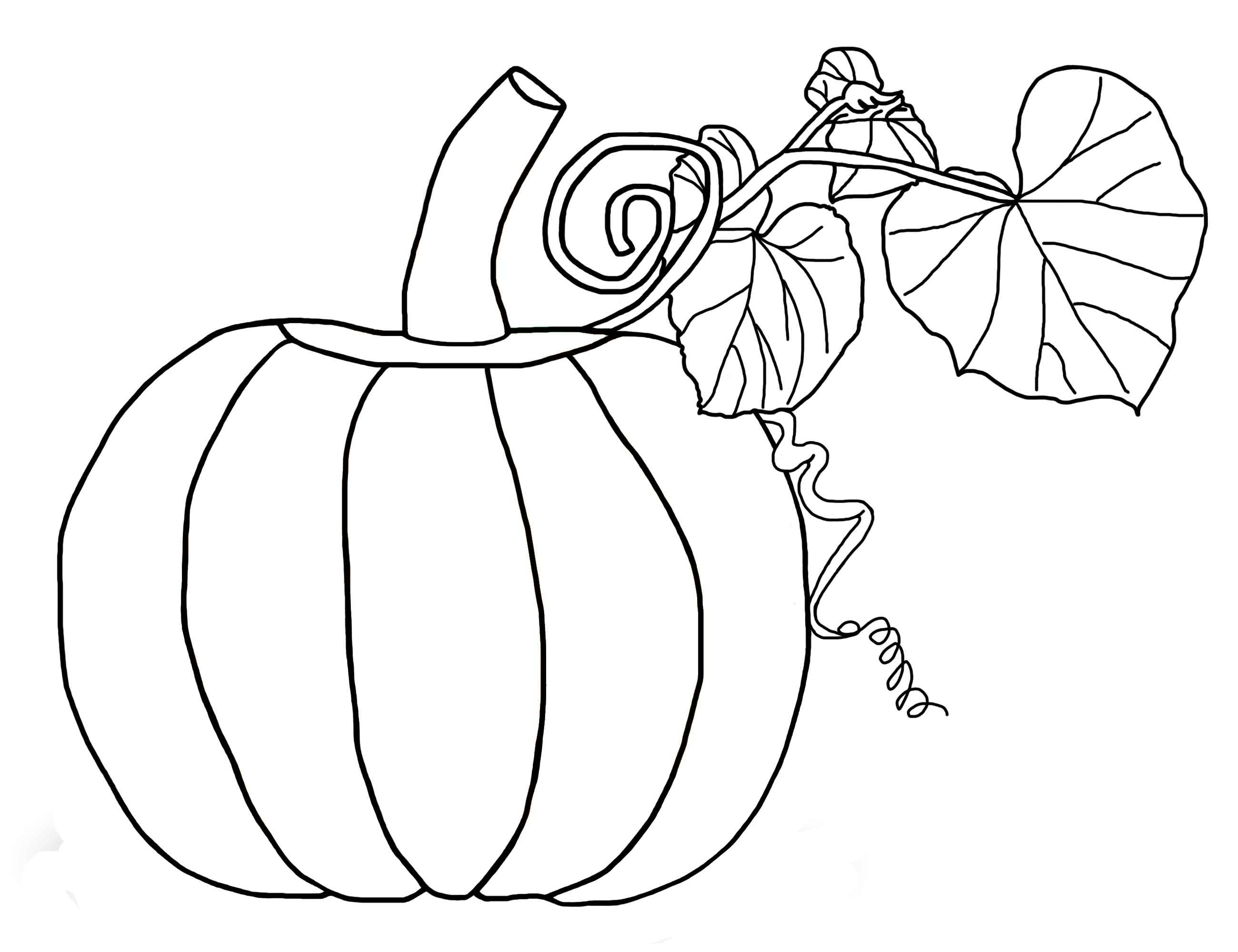 Free Pumpkin Coloring Pages For Kids - Free Printable Pumpkin Books