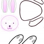 Free Rabbit Template, Download Free Clip Art, Free Clip Art On   Free Printable Bunny Templates