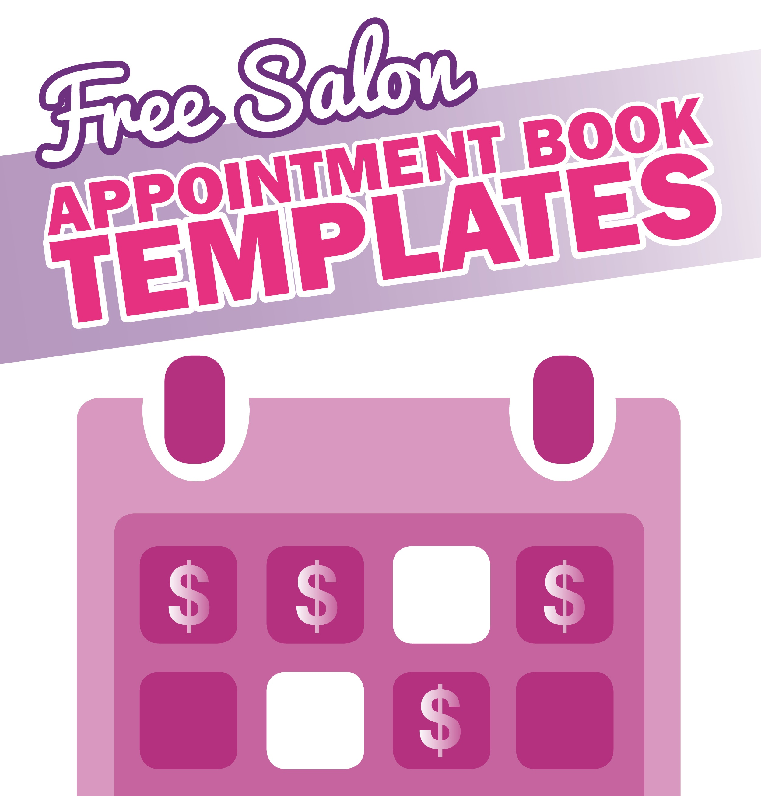 Free Salon Appointment Book Template - Worldwide Salon Marketing - Free Printable Salon Sign In Sheets