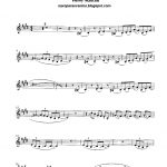Free Sheet Music For Sax: Pink Panther   Henry Mancini Score And   Free Printable Alto Saxophone Sheet Music Pink Panther