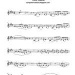Free Sheet Music For Sax: Pink Panther   Henry Mancini Score And   Free Printable Alto Saxophone Sheet Music Pink Panther